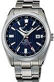 [オリエント]ORIENT 腕時計 ORIENTSTAR オリエントスター GMT 機械式 自動巻き (手巻き付き)  ネイビー WZ0071DJ メンズ