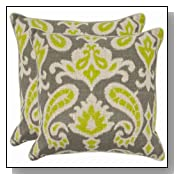 Safavieh Pillow Collection Paisley Pillow, Set of 2