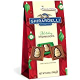 Ghirardelli Chocolate Squares, Milk and White Holiday Impressions Bag, 7.33 oz.