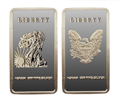 Walking Liberty Eagle 1 Gram .999 Silver Bar