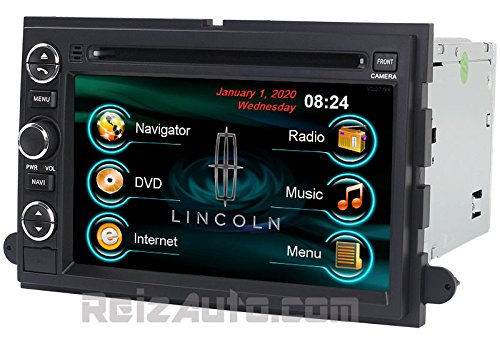 2005-2008 Lincoln Mark Lt 2006-2010 Mercury Mountaineer 2008-2009 Mercury Sable 2006-2008 Mercury Milan 2005-2007 Mercury Montego 2004-2007 Mercury Monterey In-Dash Dvd Gps Navigation Radio Bluetooth Hands-Free Steering Wheel Controls Touch Screen Ipod Ip