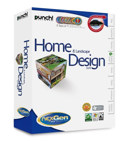 Punch! Home & Landscape Design Suite W/Nexgen