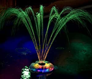 Swimming pool light show and fountain toys for Pool light show waikiki
