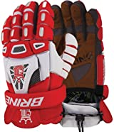 Brine LGLKNG3G King IV Men's Lacrosse Goalie Gloves (Call 1-800-327-0074 to order)