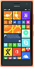 Nokia Lumia 730 Smartphone (Snapdragon 400 Prozessor, 11,9 cm (4,7 Zoll), 1,2GHz, 6,7 Megapixel Kamera, Dual-SIM, Touchscreen, Win 8.1) orange
