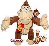 Nintendo - Large Donkey Kong Soft Toy - 10 inch
