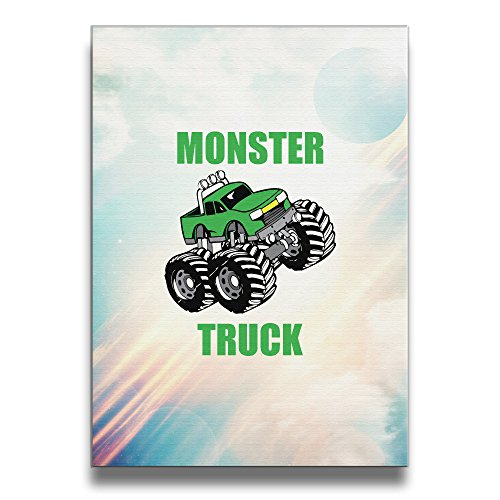 [ASCHO2 Monster Truck Frameless Art Photo Frame Picture Frame - Display Photo Home Wall Art Decor For Home Living Room Office Or] (Tony Hawk Halloween Costume)