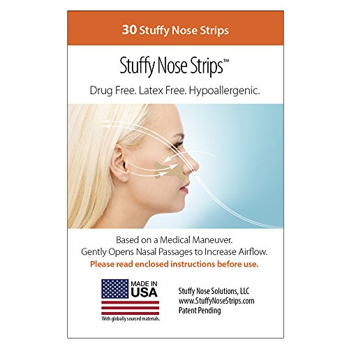 Stuffy Nose Strips Nasal Snore Relief Congestion Allergies ...