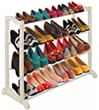 #1 Best Shoe Rack Organizer Storage Bench -100% Lifetime Money Back Guarantee -Store up to 20 Pairs of Shoes and Say Goodbye to Messy Piles of Shoes Cluttering Your Closet Cabinet and Entryway - Big Shoe Racks Shelves - Made From High-quality Plastic Polymer so It's Built to Last - Easy to Assemble - No Tools Required - Your Purchase Is Secured By a Lifetime Guarantee!