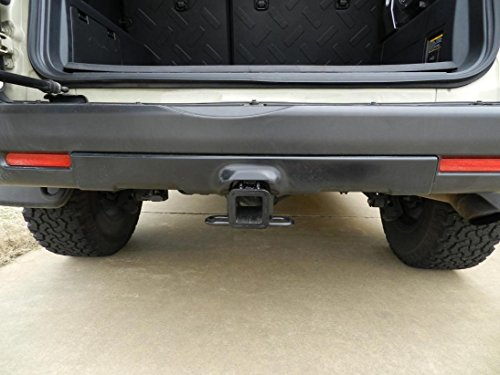 Includes Hitch Plug Cover Reese Towpower 44702 Class III Custom-Fit Hitch with 2 Square Receiver Opening