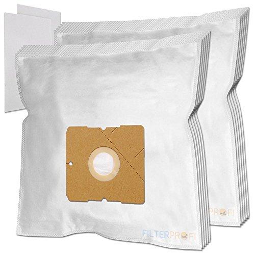 10 Staubsaugerbeutel / Staubbeutel / Filtertüten geeignet für AEG / Electrolux AE 3400 bis 3499 Ingenio, AE 3450 / AE3450, AE 3450 Ingenio, AE 3455 Ingenio