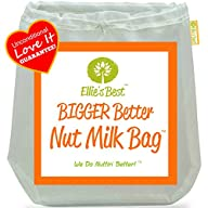 Pro Quality Nut Milk Bag – Big 12″X12…