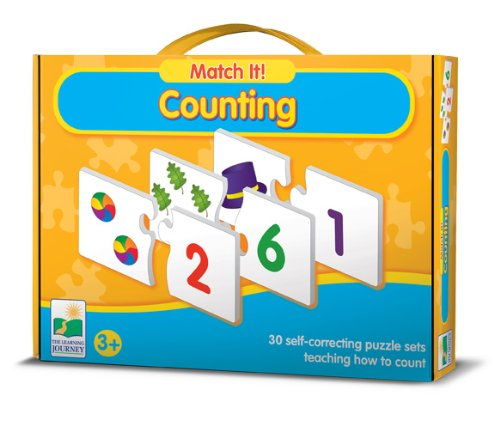 The Learning Journey Match It (Counting)