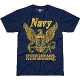 Battlespace Men's T Shirt USN 'Retro'