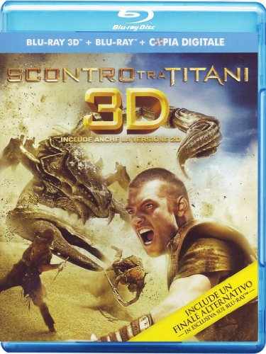 Scontro tra titani (2D+3D+copia digitale) [Blu-ray] [IT Import]