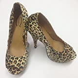 NEW WOMEN'S LEOPARD PRINT HIGH HEEL SEXY PLATFORM