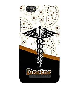 Doctor is God 3D Hard Polycarbonate Designer Back Case Cover for Lenovo A2020