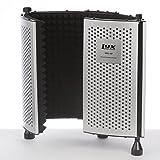 LyxPro VRI-10 ポータブル リフレクションフィルター ボイスレコーディングで不要な残響/雑音を最大限に除去します ボーカリスト, ボイスオーバーには必需品 スタンドマウント及びテーブルトップ対応