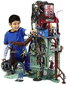 Teenage Mutant Ninja Turtles Sewer Lair Playset by Teenage Mutant Ninja Turtles