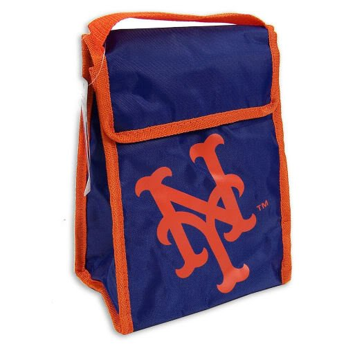 "New York Mets Official MLB 9""x7""x5"" Insulated Lunch Box Cooler at Amazon.com"