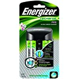 Energizer +B6:L6Recharge Pro Charger with 4 AA NiMH Rechargeable Batteries (included) Auto Shutoff, Bad Battery Detection, Enhanced Charging AlertsEnergizer Recharge Pro Charger with 4 AA NiMH Rechargeable Batteries (included) Auto Shutoff, Bad Battery Detection, Enhanced Charging Alerts