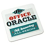 Back Chat Backchat 'The Office Oracle' Coaster