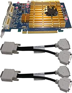 Ati Radeon 3400 Series/512MB DDR2 / Pci-express/ 4 Dvi Outputs
