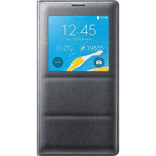 samsung-galaxy-note-4-case-s-view-flip-cover-folio-case-charcoal-black