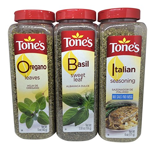 Basil, Oregano & Italian Seasoning