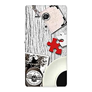 Delighted Vintage Style Multicolor Back Case Cover for Sony Xperia SP