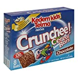 Kedem Kids Breakfast Cereal Bars, Crunchee Chocolate Cereal Bars, 8-Count 7.3-Ounce Boxes (Pack Of 6)