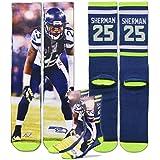 Seattle Seahawks Richard Sherman Sublimation Socks