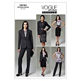 Vogue Patterns V8781 Size B5 8-10-12-14-16 Misses'/ Misses' Petite Jacket Tunic Dress Skirt and Pants