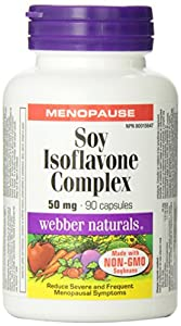 Webber Naturals® Soy Isoflavones Non-GMO 50 mg 90Capsules