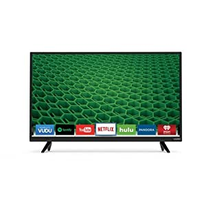 VIZIO D32X-D1 32-Inch 1080p 60Hz Smart LED HDTV (Certified Refurbished)