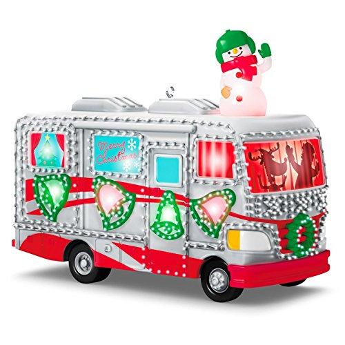 Hallmark 2016 Christmas Ornaments Crazy Christmas Camper (Hallmark Campers compare prices)