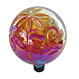 Gardener's Select A14BFG04 Glass Gazing Globe, Red, 10