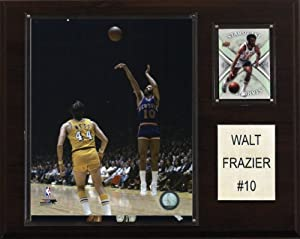 NBA Walt Frazier New York Knicks Player Plaque by C&I Collectables