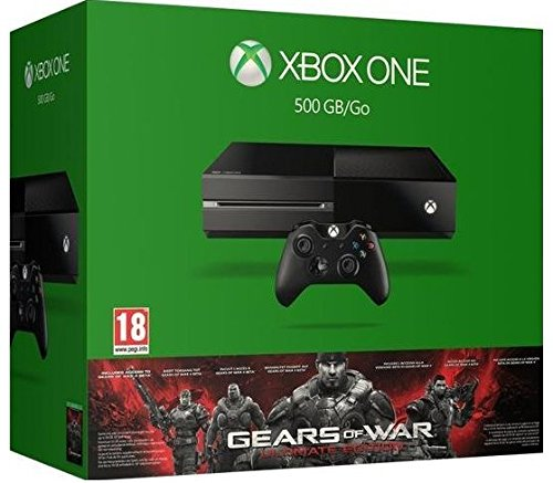 ¡Date un capricho! Xbox One - Consola + Gears Of War: Ultimate Edition