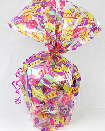 Big Easter Bunny Basket with Candies, Chocolates, and Crafts