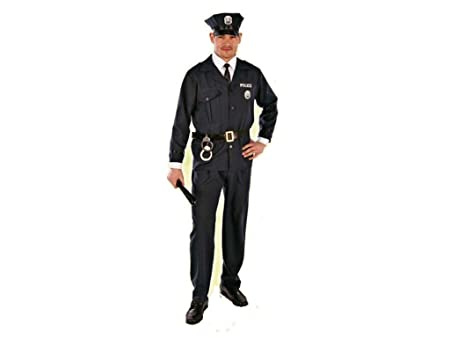 Rio - 152161/4648 - Costume - Adulte Homme Policier - Taille 46/48