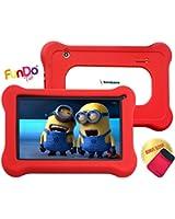 65% Économisez -Simbans (TM) FunDoTab 7 pouces Tablette tactile pour Enfant PC - Quad Core, Google Android 4.4 KitKat, HD, 8G + Bonus article