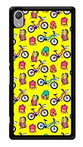 """Humor Gang Back To School Printed Designer Mobile Back Cover For """"Sony Xperia Z3 - Sony Xperia Z3 Plus"""" (3D, Glossy, Premium Quality Snap On Case)"""