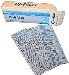 Ef-Chlor Camping Tablets 10 Litres