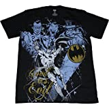 Batman Good vs. Evil Mens Slim Fit T-Shirt, XXX-Large