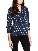 Yumi Camisa Mujer (Azul Marino)