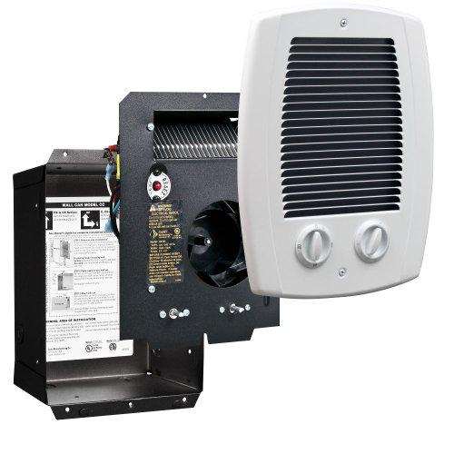 Cadet Manufacturing 65101 120/240-Volt White Com Pak Electric Bath Heater, 1000-Watt