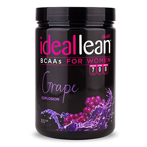 IdealLean, BCAAs For Women, Grape Explosion - Build Lean Muscle Now with Branched Chain Amino Acid. Burn Fat with IdealLean's Fat Loss Blend. 0 Carbs, Sugars, and Calories, 30 Servings (Bcaa Grape compare prices)