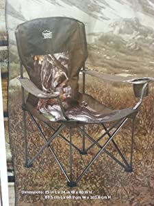 Timber Ridge Outfitter Camo Folding Outdoor