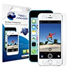 Tech Armor iPhone 5S / iPhone 5C / iPhone 5 Premium High Definition (HD) Clear Screen Protector [3-Pack] - Retail Packaging